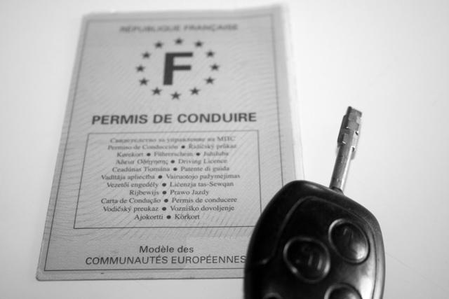 Licencia de manejo francesa