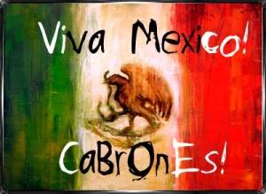 Viva México cabrones !