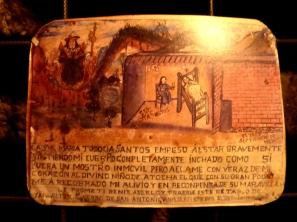 Ex-voto mina del Edén en Zacatecas