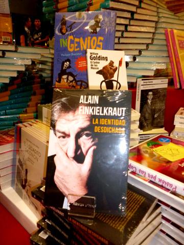 Finkielkraut en la Feria Internacional del Libro en GDL