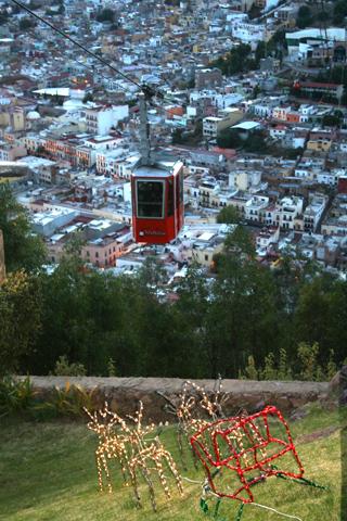 Teleférico en Zacatecas