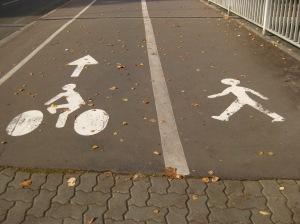 En bici o caminando ?