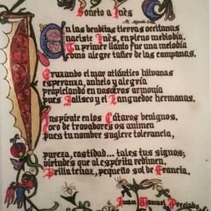 Soneto a Inès de Juan Manuel Preciado