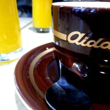 """Café vienés en """"Aida"""""""